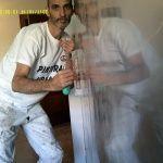 Reflejos sobre estuco veneciano gris 9