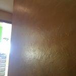 Cera Metal Oro Sobre Efecto Rustico Brisa - Mañana (15)