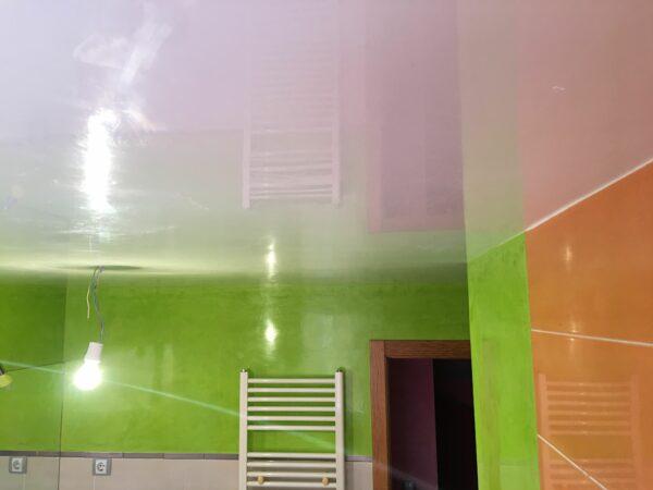 Pintores en Villalbilla – Estuco Mineral Blanco y Estuco Veneciano Verde con Cera – Yolanda