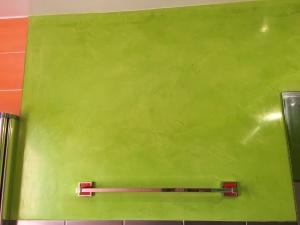 Estuco Veneciano Verde en Paredes de Wc (3)
