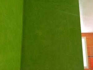 Estuco Veneciano Verde en Paredes de Wc (5)