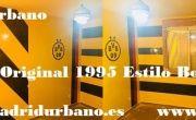 Pintores en Madrid – Estuco Futbol a Rayas Amarillas y Negras con Cera