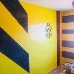 Estuco Amarillo y Negro 1ª de Cera (8)