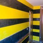 Estuco Amarillo y Negro 1ª de Cera (5)