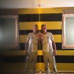 Estuco Veneciano Original a rayas amarillas y negras Borussia Dortmund (10)