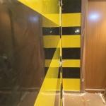 Estuco Veneciano Original a rayas amarillas y negras Borussia Dortmund (14)