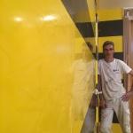 Estuco Veneciano Original a rayas amarillas y negras Borussia Dortmund (17)