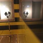 Estuco Veneciano Original a rayas amarillas y negras Borussia Dortmund (2)