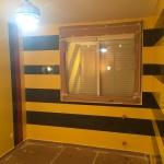 Estuco Veneciano Original a rayas amarillas y negras Borussia Dortmund (35)