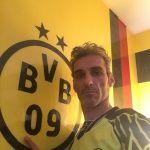 Estuco Veneciano Original a rayas amarillas y negras Borussia Dortmund (55)