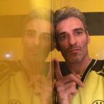 Estuco Veneciano Original a rayas amarillas y negras Borussia Dortmund (59)