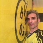 Estuco Veneciano Original a rayas amarillas y negras Borussia Dortmund (60)