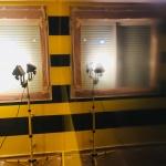Estuco Veneciano Original a rayas amarillas y negras Borussia Dortmund (62)
