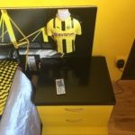 Estuco Veneciano Original a rayas amarillas y negras Borussia Dortmund Decoracion (1)
