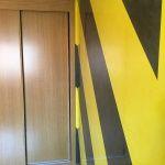 Estuco Veneciano Original a rayas amarillas y negras Borussia Dortmund - Terminado dia (13)