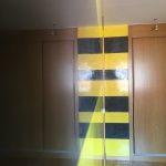 Estuco Veneciano Original a rayas amarillas y negras Borussia Dortmund - Terminado dia (15)
