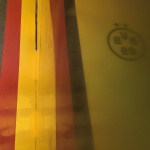 Estuco Veneciano Original a rayas amarillas y negras Borussia Dortmund - Terminado dia (24)