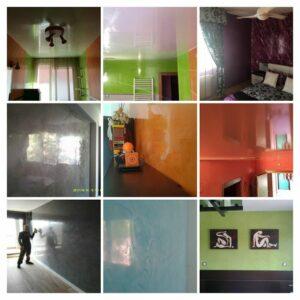 Fotos Estuco Mitiko Osaka - Pinturas Urbano - COLLAGE