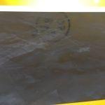 Muestras Estuco Negro y Amarillo con Escudo (1)