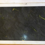 Muestras de Estuco Negro - Amarillo (25)