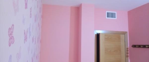Plastico Rosa y Papel Pintado Mariposas (4)