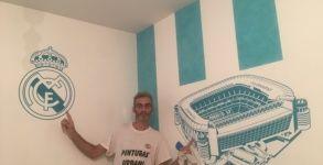 Estuco Veneciano Real Madrid con vinilos terminado (noche) (3)
