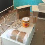 Lacar muebles en Esmalte Titanlak color Turquesa (1)