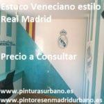 Oferta Estuco Veneciano Real Madrid