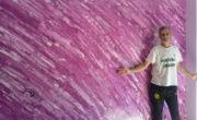 Pintores en Coslada – Quitar Gotele y pintar en Esmalte liso Valacryl – Estuco Marmoleado – Yolanda