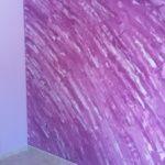 Estuco Marmoleado Violeta y Esmalte Valacryl Malva (6)