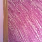 Estuco Marmoleado a 2 colores Violeta y Blanco sin cera (5)