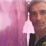 Reflejos sobre estuco Marmoleado Violeta (13)