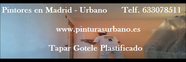 Pintor en Madrid - Quitar Gotele Plastificado